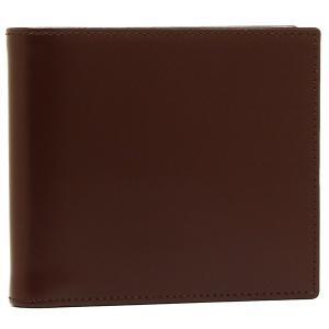 エッティンガー メンズ 折財布 ETTINGER BH142JR ブラウン イエロー|1andone