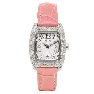 フォリフォリ 腕時計 レディース FOLLI FOLLIE S922ZI SLV/PNK シルバー/ピンク ウォッチ|1andone
