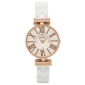 フォリフォリ 腕時計 FOLLI FOLLIE WF15B028BSZ XX ホワイト ローズゴールド|1andone