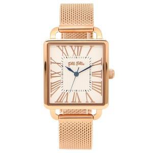 フォリフォリ 腕時計 レディース FOLLI FOLLIE WF16R012BPS-XX ピンクゴールド ホワイト 1andone