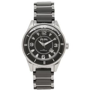 フォリフォリ 腕時計 レディース FOLLI FOLLIE WF4T0015BDK ブラック/シルバー ウォッチ|1andone