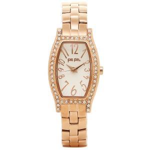 フォリフォリ 腕時計 レディース FOLLI FOLLIE WF8B026BPS ホワイト/ピンクゴールド ウォッチ|1andone