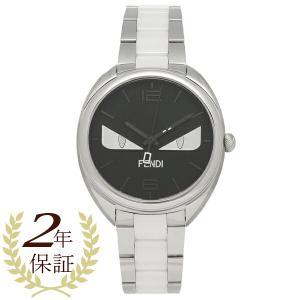 フェンディ 腕時計 レディース メンズ FENDI F216031004D1 シルバー ブラック|1andone