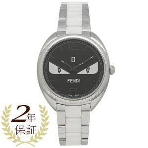 フェンディ 腕時計 レディース メンズ FENDI F216031104D1 シルバー ブラック|1andone