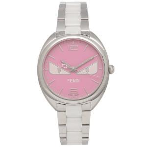 フェンディ 腕時計 レディース メンズ FENDI F216037204D1 シルバー ピンク|1andone