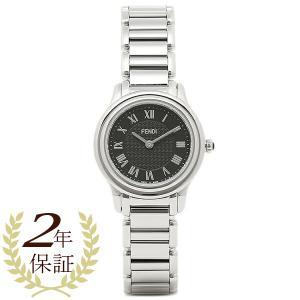 フェンディ 腕時計 レディース FENDI F251021000 ブラック/シルバー|1andone