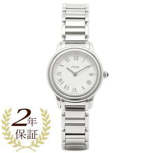 フェンディ 腕時計 レディース FENDI F251024000 ホワイト/シルバー|1andone