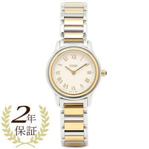フェンディ 腕時計 レディース FENDI F251124000 ホワイト/シルバー/ゴールド|1andone