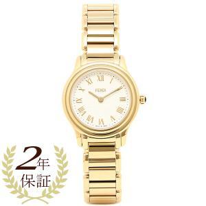 フェンディ 腕時計 レディース FENDI F251424000 ホワイト/ゴールド|1andone