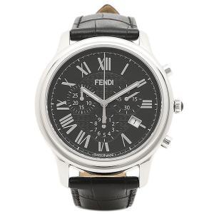フェンディ 腕時計 レディース FENDI F253011011 ブラック シルバー|1andone
