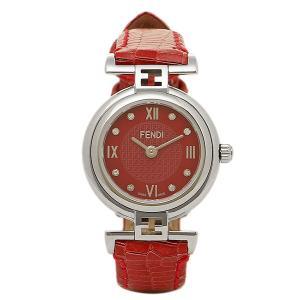 フェンディ 時計 レディース FENDI F271277D モーダ MODA 腕時計 ウォッチ レッド/シルバー|1andone
