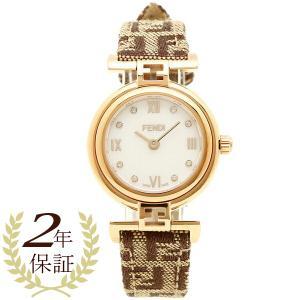 フェンディ 腕時計 レディース FENDI F275242DF ブラウン ローズゴールド ホワイトパール|1andone
