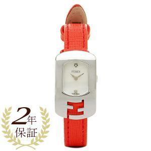 フェンディ 時計 レディース FENDI F300024574D1 カメレオン 腕時計 ウォッチ ホワイト/レッド|1andone