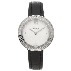 フェンディ 腕時計 レディース FENDI F354024011-H ブラック シルバー ホワイト|1andone