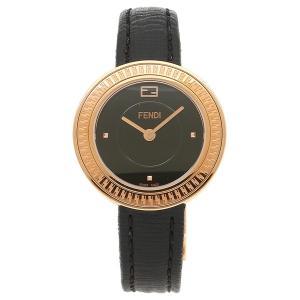 フェンディ 腕時計 レディース FENDI F354521011 ローズゴールド ブラック|1andone