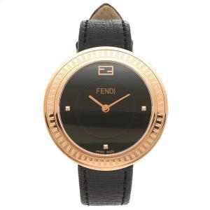 フェンディ 腕時計 レディース FENDI F354531011 ローズゴールド ブラック|1andone
