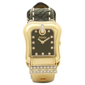 フェンディ 腕時計 レディース FENDI F384211DDC ブラック/ゴールド|1andone