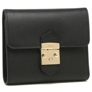 フルラ 折財布 レディース FURLA 993268 PU28 OAV O60 ブラック