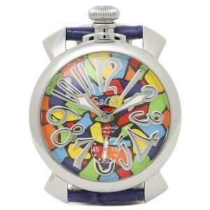 ガガミラノ 腕時計 ウォッチ GAGA MILANO 5010MOSACO1S ブルー シルバー|1andone