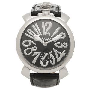 ガガミラノ 腕時計 メンズ GAGA MILANO 5010.04S-BLK-NEW ブラック シルバー|1andone