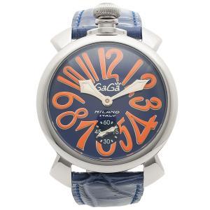 ガガミラノ 腕時計 メンズ GAGA MILANO 5010.08S-BLU ブルー マルチカラー シルバー|1andone
