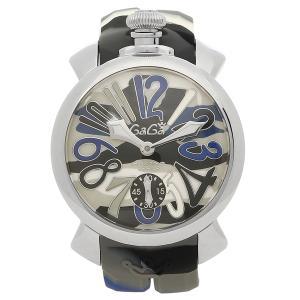 ガガミラノ 腕時計 メンズ GAGA MILANO 5010.15S ブルーカモフラージュ|1andone