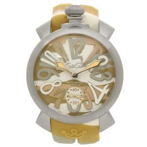 ガガミラノ 腕時計 メンズ GAGA MILANO 5010.17S イエローカモフラージュ|1andone