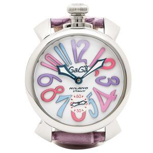 ガガミラノ 腕時計 GAGA MILANO 5010.09S-PUR パープル ホワイト|1andone