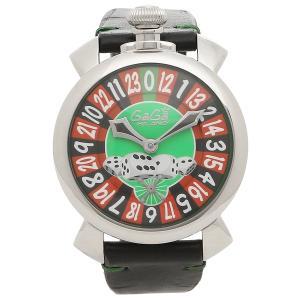 ガガミラノ 腕時計 メンズ GAGA MILANO 5010.LV01BLK グリーン ブラック シルバー マルチカラー|1andone