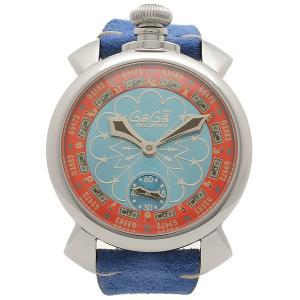 ガガミラノ 腕時計 メンズ 手巻き GAGA MILANO 5010.LV02-BLU ブルー|1andone