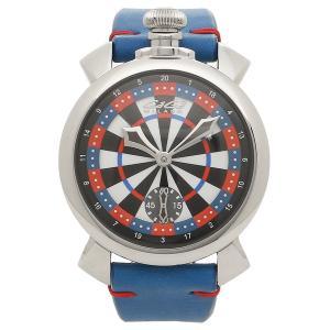 ガガミラノ 腕時計 メンズ GAGA MILANO 5010LV03 マルチカラー ブルー シルバー|1andone