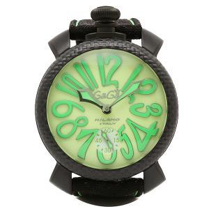 ガガミラノ 腕時計 GAGA MILANO 5016.11S-BLK グリーン ブラック|1andone