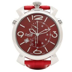 ガガミラノ 腕時計 GAGA MILANO 5097.04RD レッド シルバー|1andone