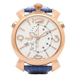 ガガミラノ 腕時計 GAGA MILANO 5098.01BT ブルー ゴールド ホワイト|1andone