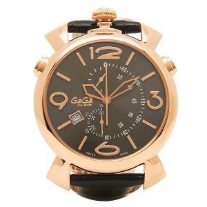 ガガミラノ 腕時計 GAGA MILANO 5098.02BK ブラック ゴールド|1andone