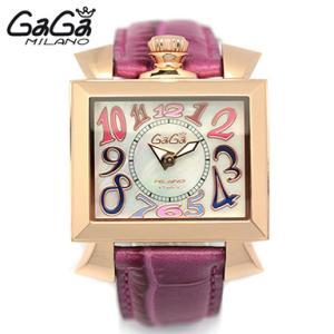 GAGA MILANO ガガミラノ 6031.1 40MM NAPOLEONE ナポレオン/ナポレオーネ ホワイトシェル/ピンクゴールド/ピンク レディースウォッチ/腕時計|1andone