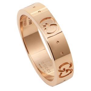 グッチ GUCCI 指輪 リング アクセサリー GGアイコンスィン バンドリング 152045 J8500 5702 GG ICON THIN BAND RING ピンクゴールド 男女兼用 メンズ/レディース|1andone