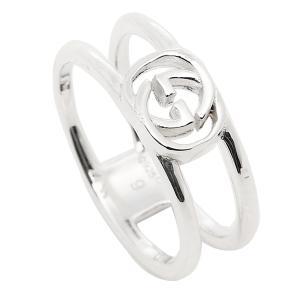 グッチ GUCCI 指輪 リング アクセサリー レディース/メンズ GUCCI 298036 J8400 8106 インターロッキングGチャーム 指輪 シルバー|1andone