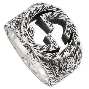 グッチ 指輪 アクセサリー メンズ レディース GUCCI 455302 J8400 0811 シルバー|1andone