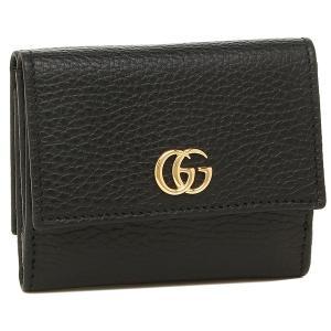 グッチ 折財布 レディース GUCCI 524672 CAO0G 1000 ブラック|1andone