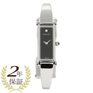 グッチGUCCI 時計 腕時計 レディース YA015555 1500シリーズ ブラック/シルバー ウォッチ|1andone