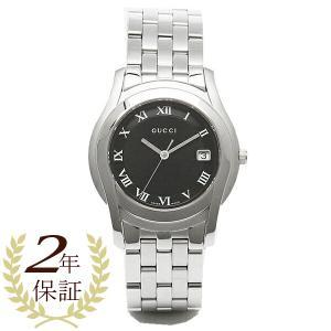 グッチ メンズ 腕時計 GUCCI YA55302MSS BLK Gクラス ブラック/シルバー ウォ...