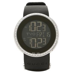 グッチ 時計 レディース GUCCI YA114402 Iグッチ 腕時計 ウォッチ デジタル/シルバー/ブラック|1andone