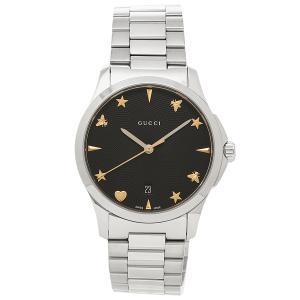 グッチ 腕時計 レディース GUCCI YA1264029 ブラック シルバー|1andone