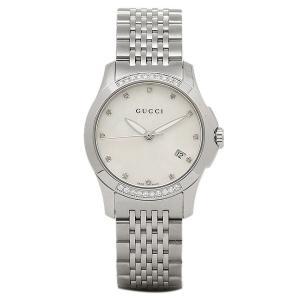 グッチGUCCI腕時計 レディースウォッチ G-タイムレス ホワイトシェル/シルバー YA126510 G-TIMELESS|1andone