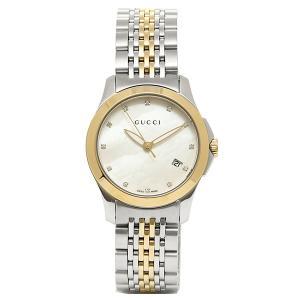 グッチ 腕時計 GUCCI YA126513 シルバーゴール...