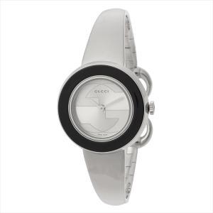 グッチ GUCCI 時計 腕時計 グッチ 時計 レディース GUCCI YA129516-SET-BKBG Uプレイ 腕時計 ウォッチ シルバー/ベージュ|1andone