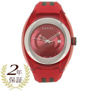 グッチ 腕時計 レディース メンズ GUCCI YA137103A レッド|1andone