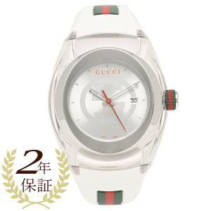 グッチ 腕時計 レディース メンズ GUCCI YA137302 ホワイト 1andone