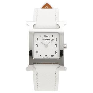 HERMES 腕時計 エルメス 036700WW00 HH1.210.131/UBC Hウォッチ レディース シルバー ホワイト 1andone